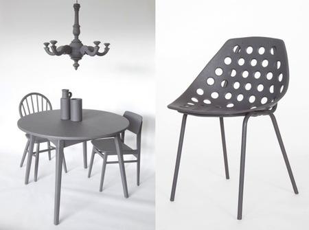 As good as new renueva los muebles pasándolos al gris