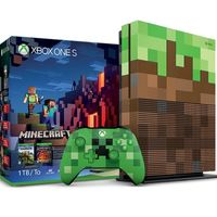 Pack Xbox One S 1TB Edición Limitada Minecraft por sólo 229 euros y envío gratis
