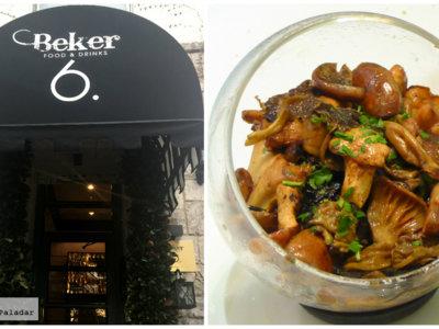 Restaurante Béker6, creatividad y sabor con aroma oriental