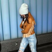 Kendall Jenner Vaqueros