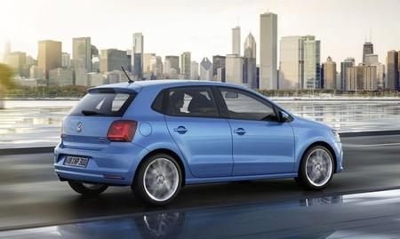 Volkswagen Polo 2014 azul