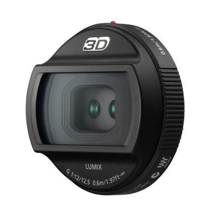 Lente 3D para Panasonic GH2