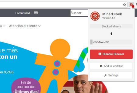 Minerblock Movistares