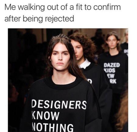 Shit Model Management, el nuevo Instagram viral que te hará reír con sus memes sobre la moda