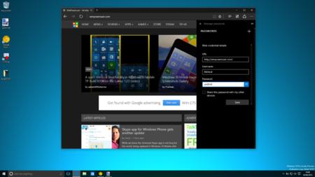 Microsoft Edge ya permite gestionar nuestras contraseñas y cambiar el motor de búsqueda