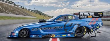 El Funny Car del Dodge Charger SRT Hellcat Widebody tiene 11,000 hp... porque 707 hp no bastan