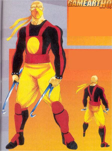 Baraka Mortal Kombat Early Concept Art