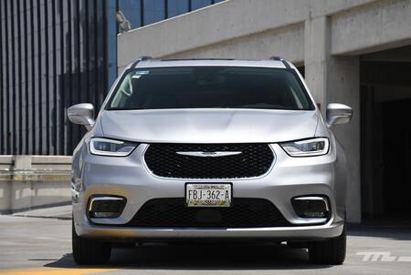 Chrysler Pacifica 2021 Opiniones Prueba Mexico 4