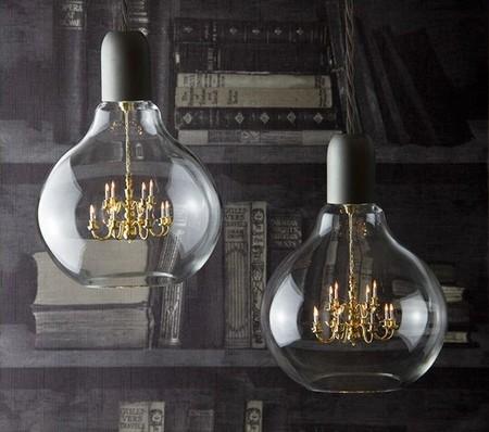 """Detalle para la casa de un anticuario: lámpara """"King Edison"""" de Young & Battaglia"""