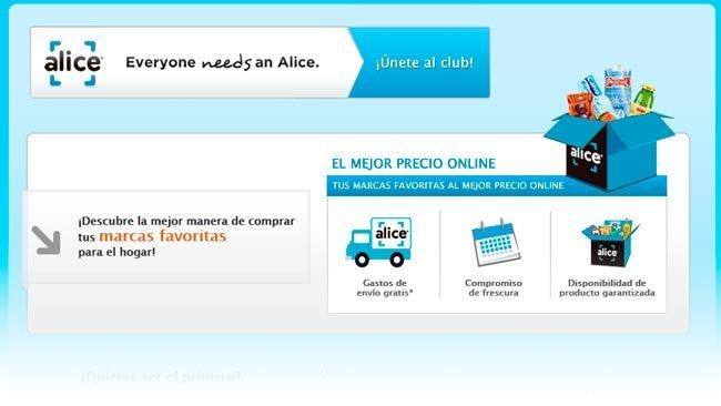 Alice.com aterriza en España