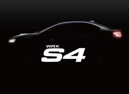 Subaru revela la primera imagen de su nuevo WRX S4