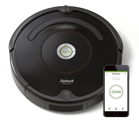 Robot aspirador Roomba 671 WiFi, compatible con Alexa, en oferta por 179,99 euros en la Semana del Black Friday de Amazon