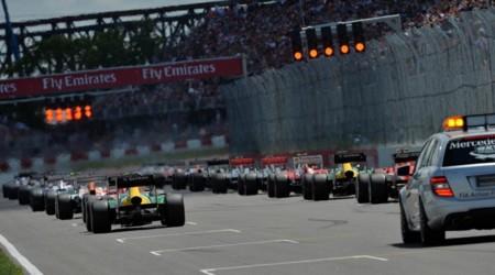 Salida Formula 1