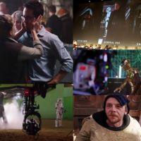 Nuevos vídeos de 'Star Wars: El despertar de la fuerza' desde la Comic-Con: un nostálgico vistazo al rodaje