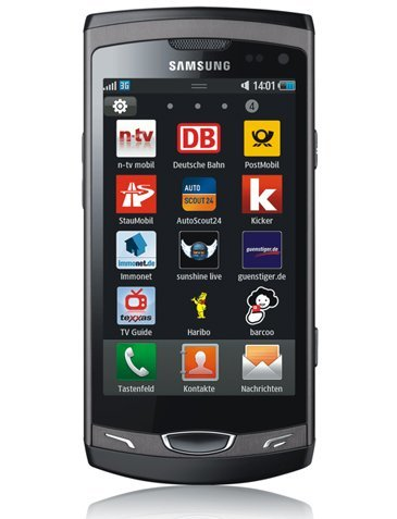 Samsung S8530 Wave II, 3.7 pulgadas que no son SuperAMOLED
