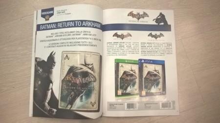 Batman Return To Arkham Ps4 Xbox One