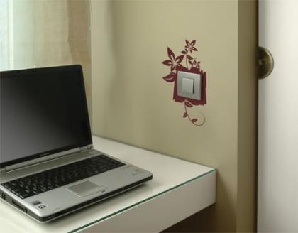 Personaliza tus interruptores con vinilos
