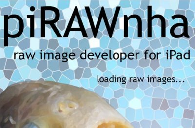 PiRAWnha, otro interesante editor Raw para tu iPad