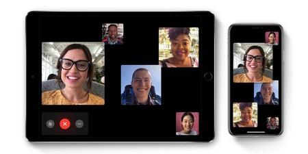 Un par de opciones para FaceTime: ampliar automáticamente y contacto visual