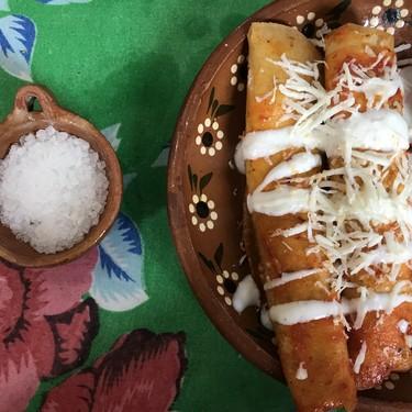 Receta para preparar Enchiladas Zacatecanas