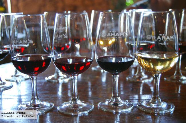 Degustación de vinos de Oporto en Graham's