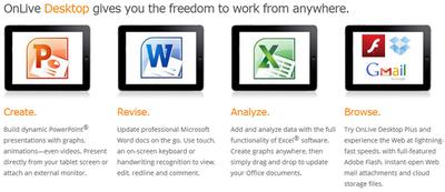 OnLive Desktop Plus, un Windows 7 con conexión a 1 Gbps en nuestras tabletas