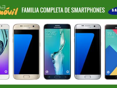 Así queda el catálogo de smartphones Samsung tras la llegada de los Galaxy S7 y Galaxy S7 edge