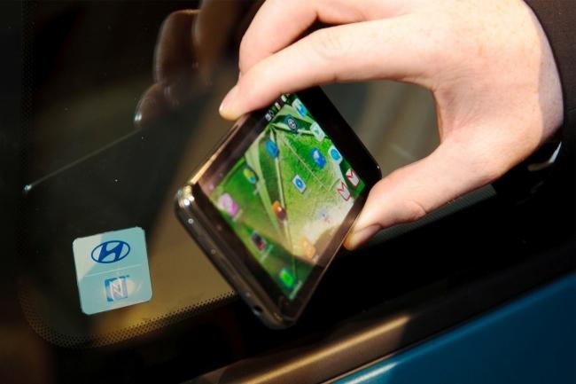 Hyundai NFC keys