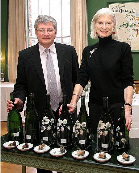 Abierto el champagne más viejo del mundo: Perrier Jouët