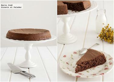 Torta de chocolate muy liviana. Receta