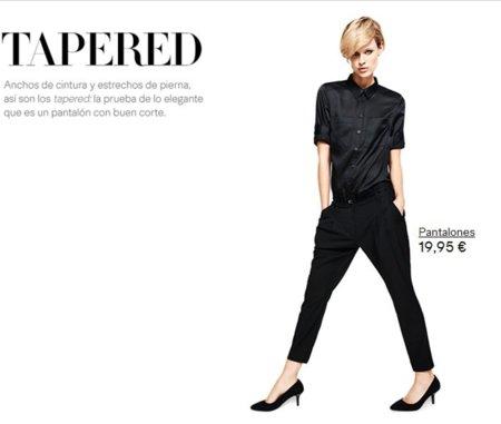 pantalon H&M tapered