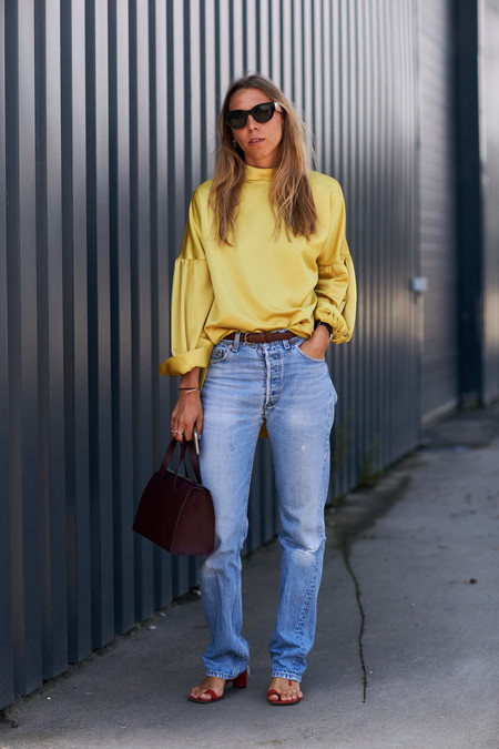 street style primavera 2018 tendencias amarillo