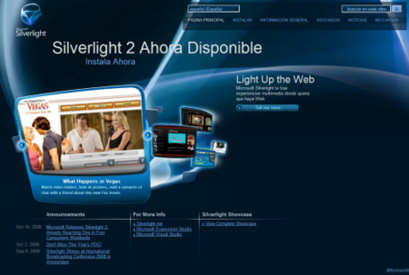 Silverlight 2.0 descarga