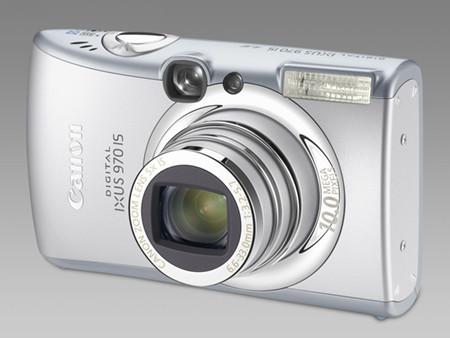 Tres nuevas compactas de Canon: IXUS 970 IS, 90 IS y 85 IS