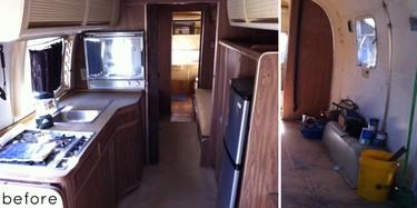 Antes y después: una caravana que ya no lo parece