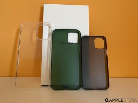 Fundas para los iPhone 12 de Totalle, la mínima expresión en tres tamaños distintos