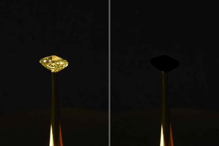 Ingenieros del MIT logran crear un material con un negro diez veces más profundo que el Vantablack