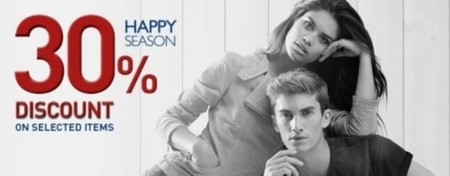 En las tiendas Salsa tienen un 30 % de descuento en prendas seleccionadas