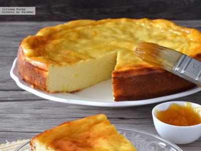 Tarta de queso y yogur al limón. Receta fresquita de postre para combatir el calor