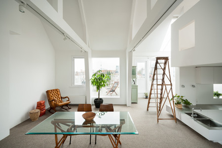 Minimalist Amsterdam Apartment With Lots Of Open Space 5