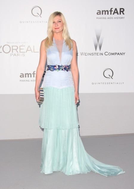 Kirsten Dunst amFar 2012 Cannes