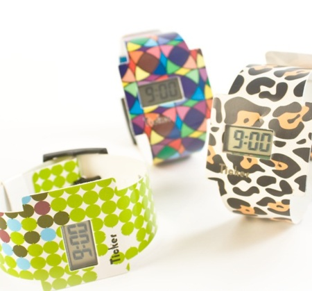 Ticker Watches, relojes indestructibles y de llamativo diseño