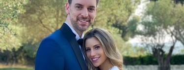 Pau Gasol se casa vestido de Tommy Hilfiger