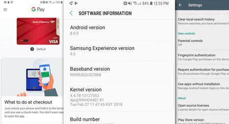 Oreo para el Galaxy Note 8 está por fin listo... en Estados Unidos, al menos