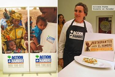 Pepa Muñoz amadrina la V Edición de Restaurantes contra el Hambre