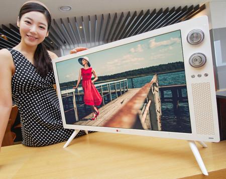 LG se atreve a darle un estilo retro a sus televisores