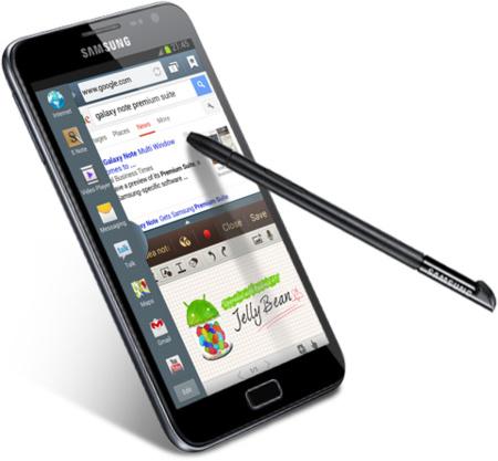 Samsung Galaxy Note se actualizará dentro de poco a Jelly Bean con las aplicaciones del Note 2