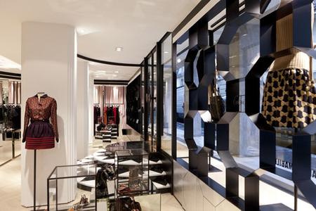 Interior boutique Alexis Mabille