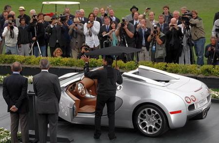 """El """"paraguas"""" del Bugatti Veyron Grand Sport, nuevas fotos y vídeo"""
