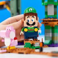 Luigi no quiere ser menos y contará con su propio pack de la colección LEGO Super Mario